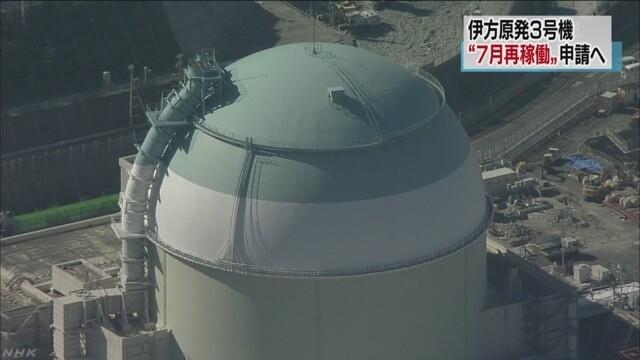 原子力発電所再稼働