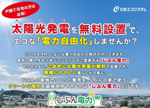 日本エコシステム:じぶん電力