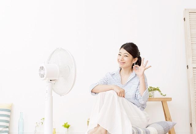 電気代節約ばっちりの女性