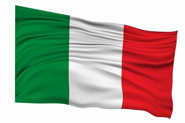 イタリアの国旗画像