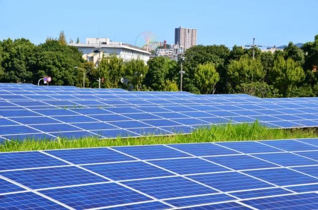 ソーラー発電と自然