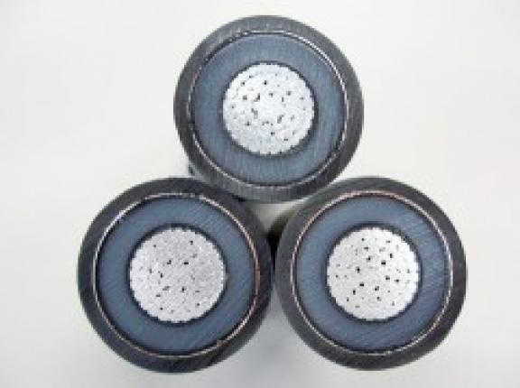地中送電ケーブルはアルミニウムが材料