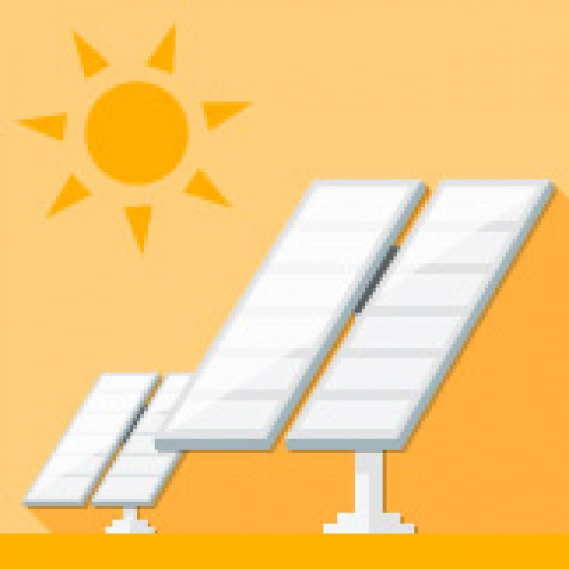 """""""太陽光発電は地球にやさしくCO2を排出しません"""""""