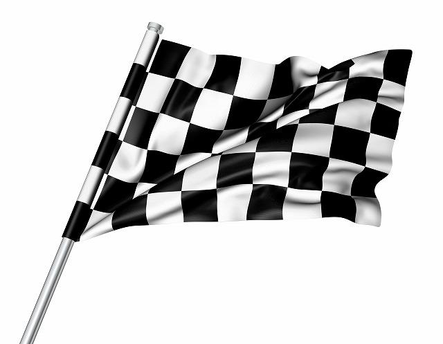 ゴールの旗