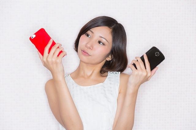 """""""携帯電話 比較 女性"""""""