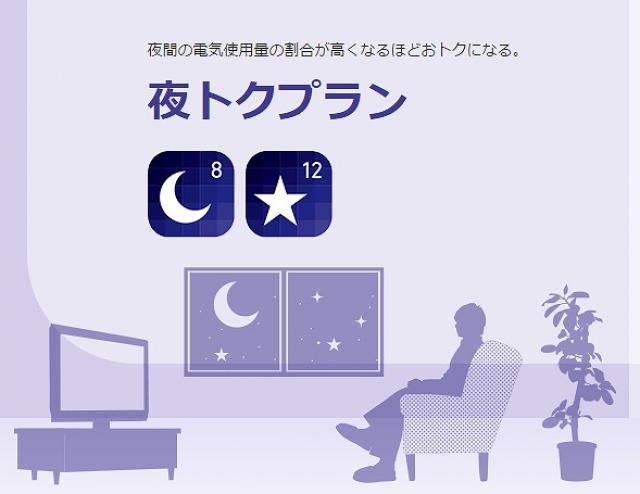 東京電力 夜トクプラン