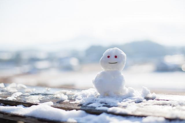 """""""冬の雪だるま"""""""