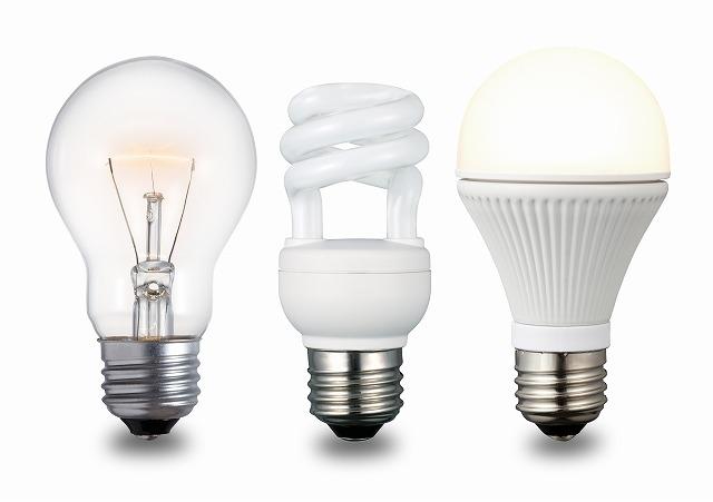 """""""電球を従来のものから最新のものに変えるだけで、節電にかなりの差がでます。"""""""