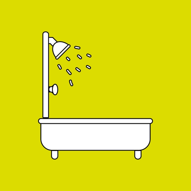 シャワーと風呂