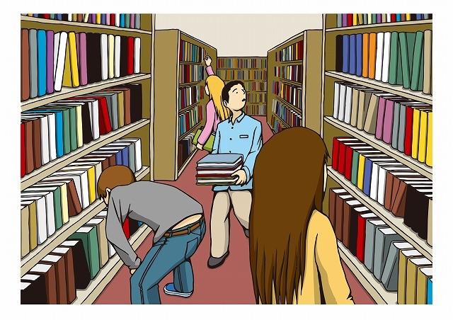 """""""図書館"""""""