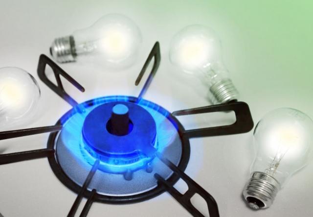 ガスと電気
