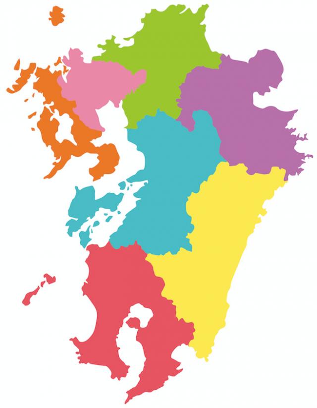 """""""九州地図"""""""