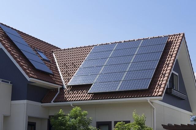 太陽光発電 設置写真