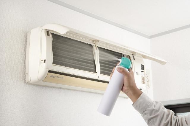 エアコンの洗浄