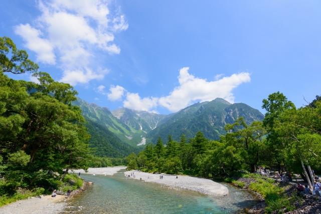 安曇野の川