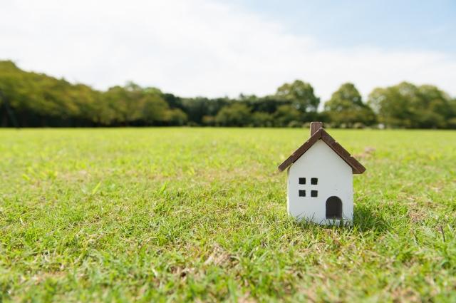 自然の中の家